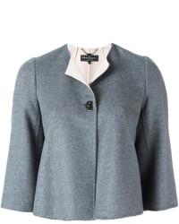Chaqueta de lana gris de Salvatore Ferragamo