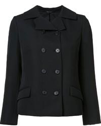 Chaqueta de lana negra de Maison Margiela