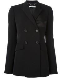 Chaqueta de Satén Negra de Givenchy