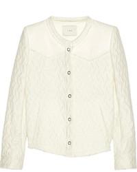 Chaqueta de tweed blanca de IRO