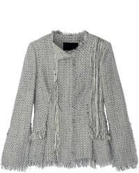 Chaqueta de tweed gris de Proenza Schouler