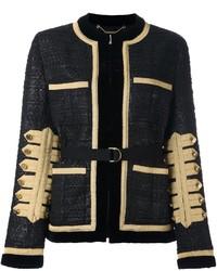 Chaqueta de tweed negra de Givenchy