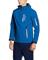Chaqueta estampada azul de Geographical Norway