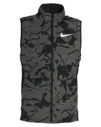 Chaqueta Estampada en Gris Oscuro de Nike