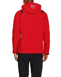 Chaqueta estampada roja de Geographical Norway