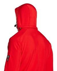 Chaqueta Estampada Roja de Geographical Norway