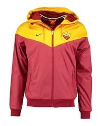 Chaqueta Estampada Roja de Nike