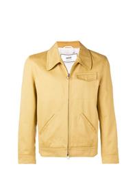 Chaqueta estilo camisa amarilla de AMI Alexandre Mattiussi