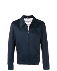 Chaqueta estilo camisa azul marino de AMI Alexandre Mattiussi
