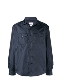 Chaqueta estilo camisa azul marino de Aspesi