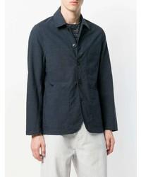 Chaqueta estilo camisa azul marino de Universal Works