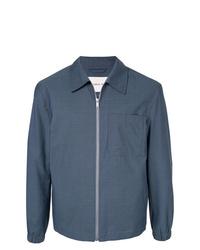 Chaqueta estilo camisa azul marino de Cerruti 1881