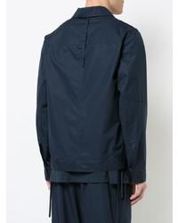 Chaqueta estilo camisa azul marino de Craig Green