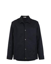 Chaqueta estilo camisa azul marino de Egrey