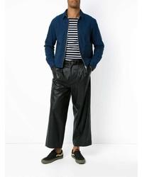 Chaqueta estilo camisa azul marino de À La Garçonne