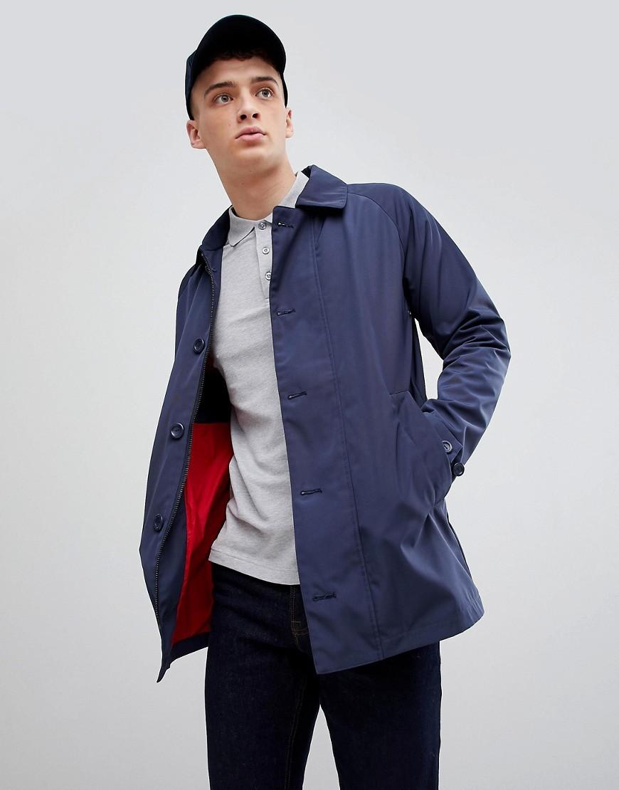 Chaqueta estilo camisa azul marino de Henri Lloyd
