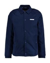 Chaqueta estilo camisa azul marino de Hollister Co.