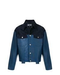 Chaqueta estilo camisa azul marino de Just Cavalli
