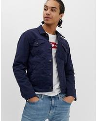 Chaqueta estilo camisa azul marino de Levi's