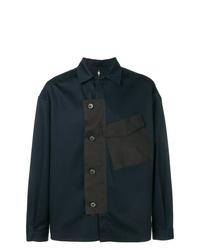 Chaqueta estilo camisa azul marino de Oamc