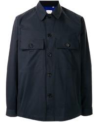 Chaqueta estilo camisa azul marino de Paul Smith