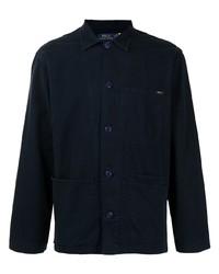 Chaqueta estilo camisa azul marino de Polo Ralph Lauren