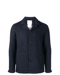 Chaqueta estilo camisa azul marino de Stephan Schneider