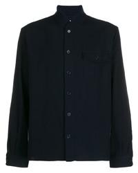 Chaqueta estilo camisa azul marino de YMC