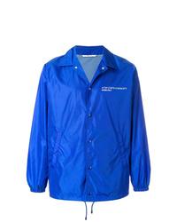 Chaqueta estilo camisa azul de Valentino