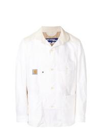 Chaqueta estilo camisa blanca de Junya Watanabe MAN