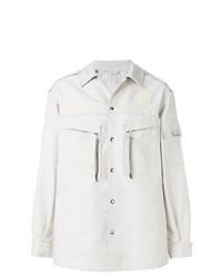 Chaqueta estilo camisa blanca de Lanvin