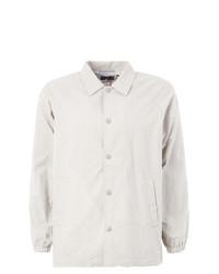 Chaqueta estilo camisa de algodón gris de Blue Blue Japan