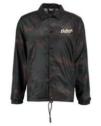 Chaqueta estilo camisa de camuflaje en gris oscuro de Carhartt WIP