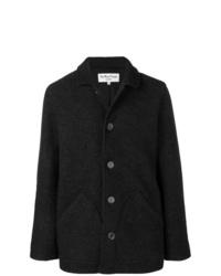 Chaqueta estilo camisa de lana en gris oscuro de YMC