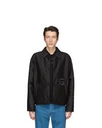 Chaqueta estilo camisa de nylon negra de Givenchy