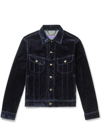 Chaqueta estilo camisa de pana azul marino de Ralph Lauren Purple Label