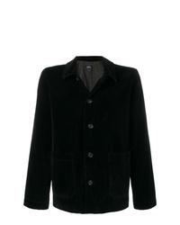 Chaqueta estilo camisa de pana negra de A.P.C.