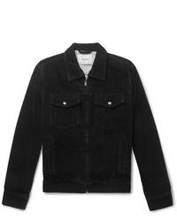 Chaqueta estilo camisa de pana negra de Frame