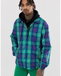 Chaqueta estilo camisa de tartán en multicolor de Tommy Jeans