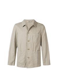 Chaqueta estilo camisa en beige de Aspesi