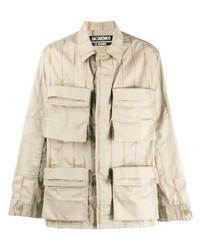 Chaqueta estilo camisa en beige de Jacquemus