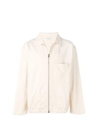 Chaqueta estilo camisa en beige de Lemaire