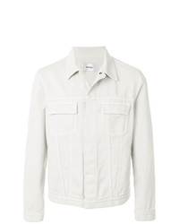 Chaqueta estilo camisa en beige de Mauro Grifoni
