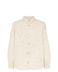 Chaqueta estilo camisa en beige de Vyner Articles