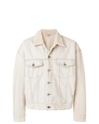 Chaqueta estilo camisa en beige de Yeezy