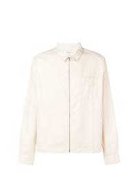 Chaqueta estilo camisa en beige de YMC