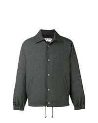 Chaqueta estilo camisa en gris oscuro de Marni