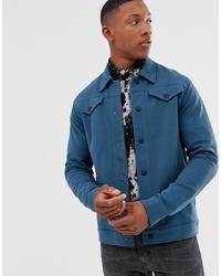 Chaqueta estilo camisa en verde azulado de Jack & Jones