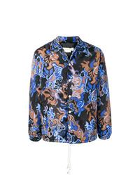 Chaqueta estilo camisa estampada en multicolor de Marni