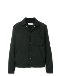 Chaqueta estilo camisa estampada negra de Golden Goose Deluxe Brand
